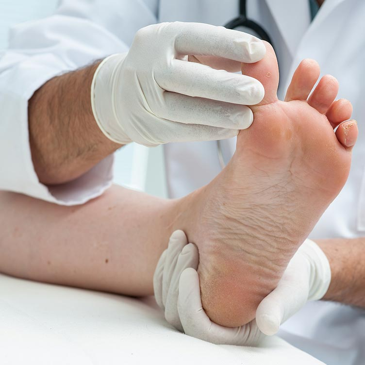 Diabetes foot checks at the Malvern Foot Clinic